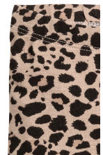 Trikåleggings - Leopardmönstrad - Kids | H&M FI 3