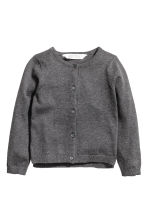 棉質開襟衫 - Dark grey - Kids | H&M 2