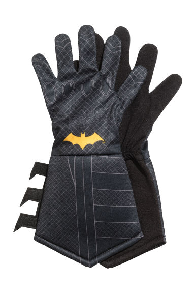 Superhero gloves - Black/Batman - Kids | H&M 1