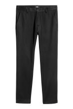 Chinos Slim fit - Black - Men | H&M CN 2