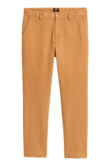 Chinos Slim fit - Camel - Men | H&M CA 1