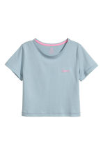Jersey top - Light petrol - Kids | H&M CA 2