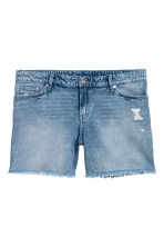 H&M+ Denim Shorts - Light denim blue - Ladies | H&M CA 2
