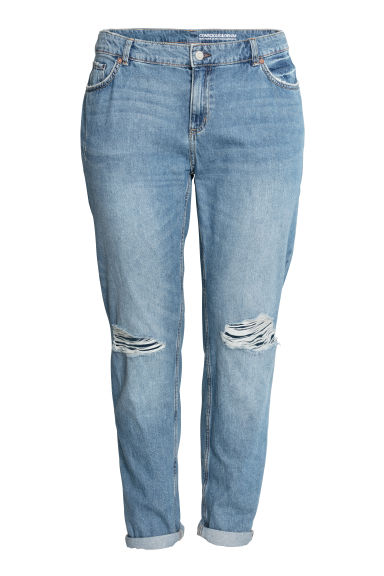 H&M+ Boyfriend Jeans - Light blue - Ladies | H&M IE