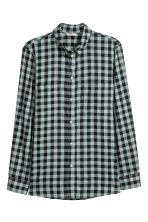 H&M+ Cotton shirt - Green - Ladies | H&M 2