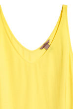 H&M+ V-neck top - Yellow - Ladies | H&M IE 3