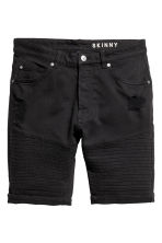 Biker shorts - Black - Men | H&M 2