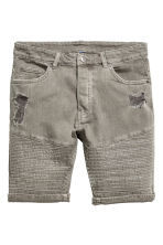 Biker shorts - Khaki green - Men | H&M 2