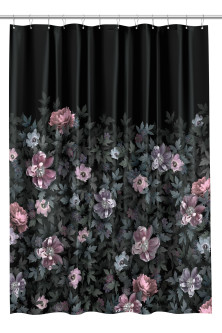Photo print shower curtain
