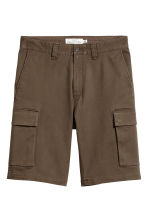 Cargo shorts - Dark Khaki - Men | H&M 2