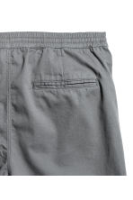 Short cotton twill shorts - Grey - Men | H&M 3
