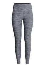 Sports tights - Grey marl - Ladies | H&M CA 2