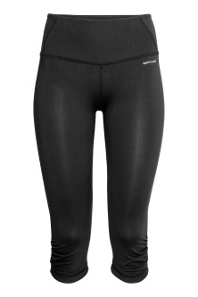 3/4-length yoga tights