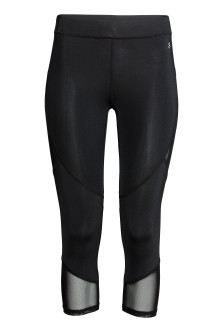 3/4-length running tights