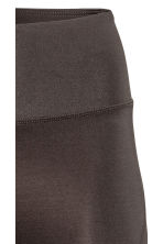 Yoga tights - Dark brown - Ladies | H&M 4