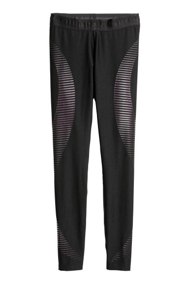 Running tights - Black - Ladies | H&M GB