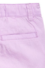 Cotton shorts - Purple - Kids | H&M 4