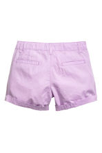 Cotton shorts - Purple - Kids | H&M 3