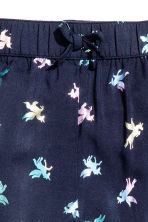 Patterned pull-on trousers - Dk.blue/Unicorn - Kids | H&M 3