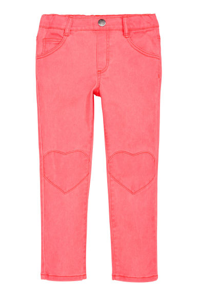 Treggings - Neonrosa - BARN | H&M SE