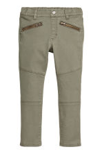Treggings - Khaki green - Kids | H&M CN 2