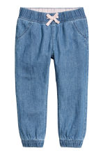 Pull-on trousers - Blue/Chambray -  | H&M CN 2