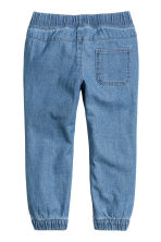 Pull-on trousers - Blue/Chambray -  | H&M CN 3