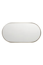 Metal mirrored tray - Gold - Home All | H&M CN 2