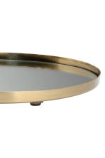 Metal mirrored tray - Gold - Home All | H&M CA 3