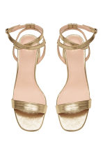 Sandals - Gold - Ladies | H&M CN 3