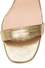Sandals - Gold - Ladies | H&M 4