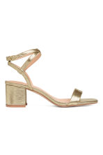 Sandals - Gold - Ladies | H&M CN 2