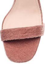 Sandals - Vintage pink - Ladies | H&M 4