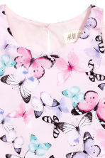 Patterned dress - Light pink/Butterflies -  | H&M 3