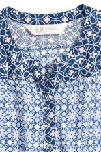 Patterned playsuit - Light blue/Patterned -  | H&M 3