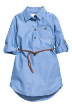 Shirt dress - Blue/Chambray - Kids | H&M CN 2