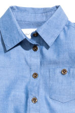 Shirt dress - Blue/Chambray - Kids | H&M CN 3