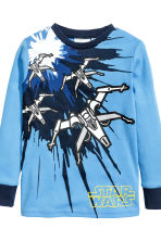 Jersey pyjamas - Blue/Star Wars - Kids | H&M 3
