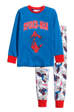 Blauw/Spiderman