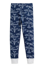 Jersey pyjamas - Dark blue/Planes - Kids | H&M 2