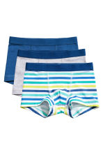 3-pack boxer shorts - Blue -  | H&M CA 1