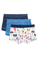 3件入四角褲 - White/Cars - Kids | H&M 1
