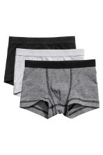 3-pack boxer shorts - Black/Narrow striped -  | H&M CN 1