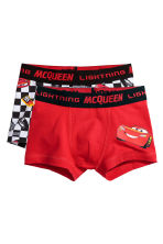 2-pack boxer shorts - Red/Cars - Kids | H&M CN 1