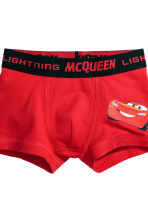 2-pack boxer shorts - Red/Cars - Kids | H&M CN 3