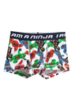 2-pack boxer shorts - Dark blue/Lego - Kids | H&M CN 2