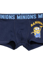2-pack boxer shorts - White/Minions - Kids | H&M 3