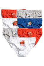 7-pack boys' briefs - White/Cars - Kids | H&M 1
