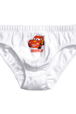 7-pack boys' briefs - White/Cars - Kids | H&M 4