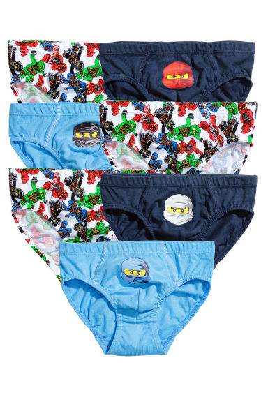 7-pack boys' briefs - Red/Lego -  | H&M 1
